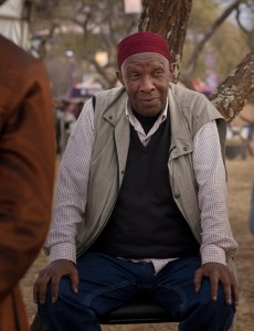 Madala Kunene at the Oppiekoppie Festival.