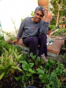 Sustainability activist Nirmala Nair.
