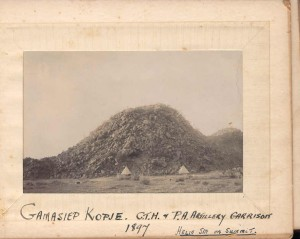 The Gamasiep Koppie in the Northern Cape is an anonymous monument for Chief Luka Jantjie and his men.