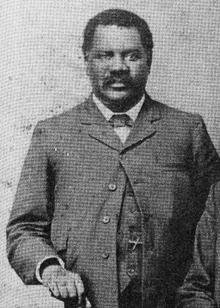 Controversial media Pioneer John Tengo Jabavu.