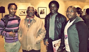 The Opening of the Peter Magubane Exhibition at the University of the Free State. Photo by O'Ryan Heideman.