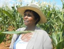 Farmer Tepsy Ntseoane.