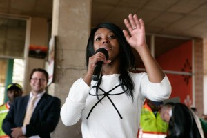 Mosa Leteane's acceptance speech accused her opponents of 'political gangsterism'.