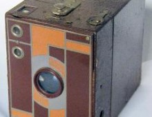 "Eastman Kodak's ""Box Brownie"" camera of the early 20th Century."