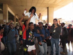 An uplifting victory for the first female SRC President in a century.