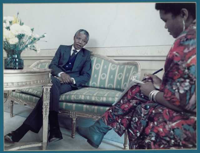 Nelson Mandela - given his status in the world, one of the most difficult interviews.