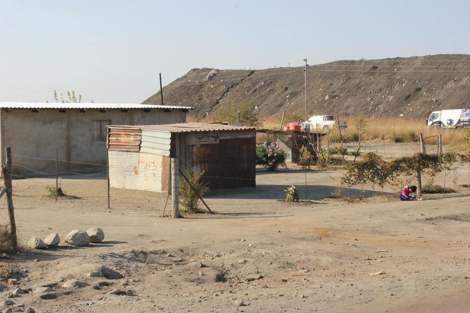 Lonmin has not built houses since 2006.