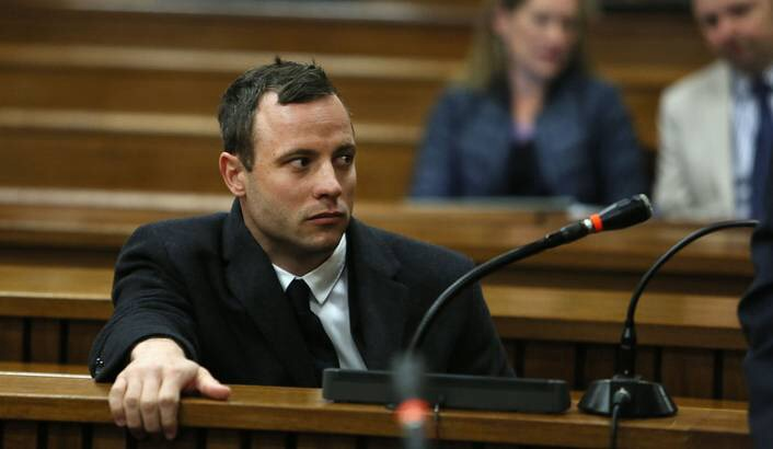 Oscar Pistorius photo courtesy Daily Maverick.