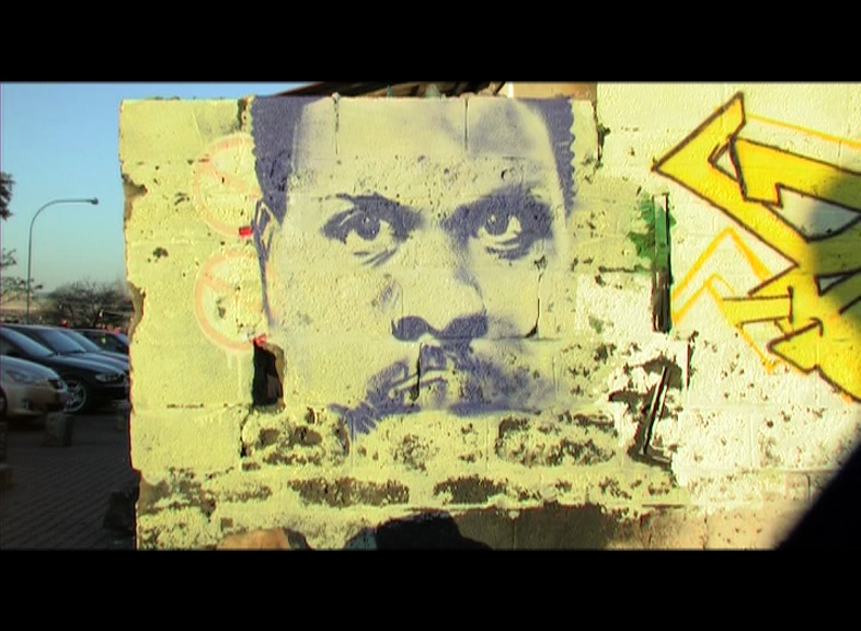 "Steve Biko lives on in the artistry of  Rasik ""Mr Ekse"" Green."