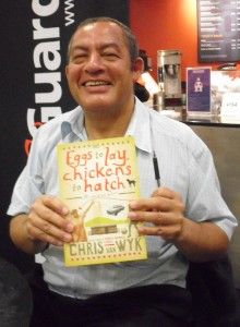 At the launch of Eggs to Lay, Chickens to Hatch Photo: Books Live