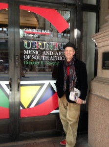 Dawid Kramer, one of SA's many artists at Carnegie Hall