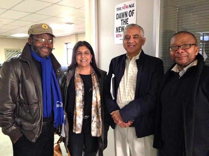 Mathatha Tsedu, Zubeida Jaffer, Moegsien Williams & Shepi Mati