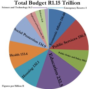How the cake is cut. A 2013 graphic done for Wits students