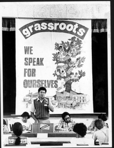 Grassroots AGM mid-80s