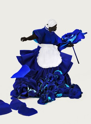Mary Sibande, I have not, I have (2010), Digital print, 110 x 80 cm, University of the Free State Art Collection. Image courtesy of Gallery MOMO