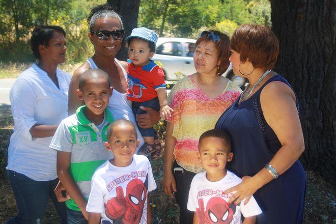 Karin Kortje & her family