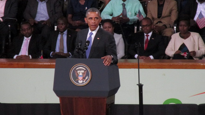 President Barack Obama in Kenya