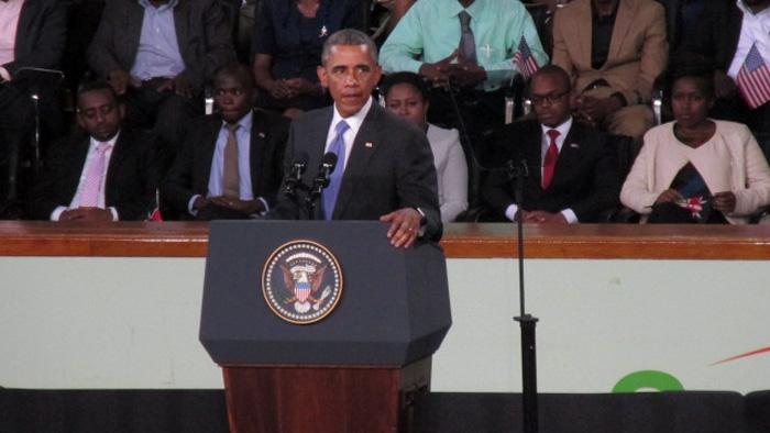 President Barack Obama in Kenya