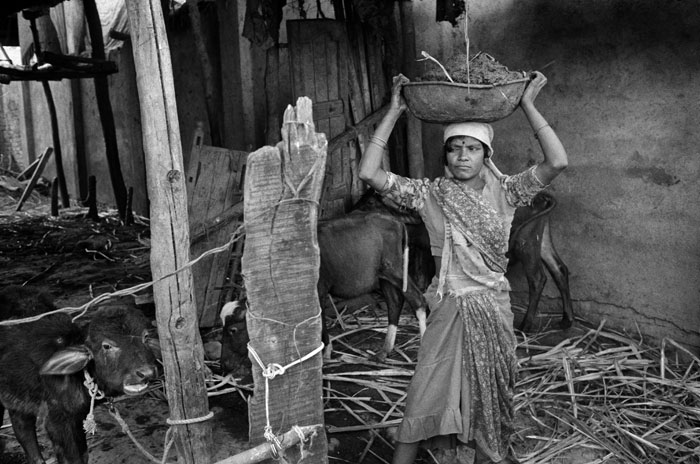 Domestic worker,Tadkeshwar. 1996