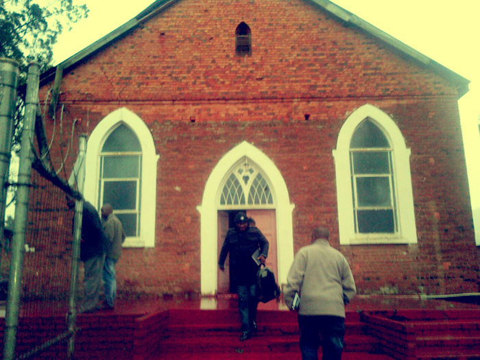 Edendale Mission is now the Methodist Church