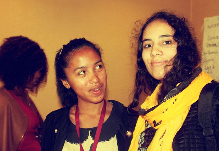 Moroccan Salma Takky & Malagassy Ny-Anjara Nofy Ary Tiavina Andrianarisaina