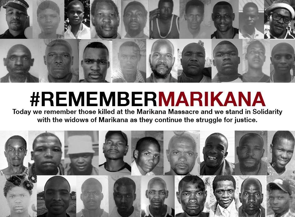 #Remember Marikana