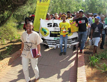 UFS-protests