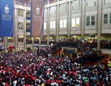 Wits-fees-protest