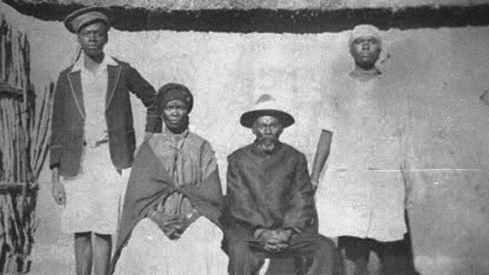 Moses Tladi's Parents