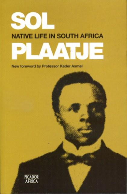 SolPlaatjeNativeLifeInSouthAfrica_Front